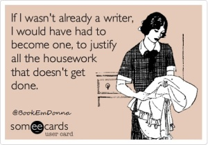 writer housework